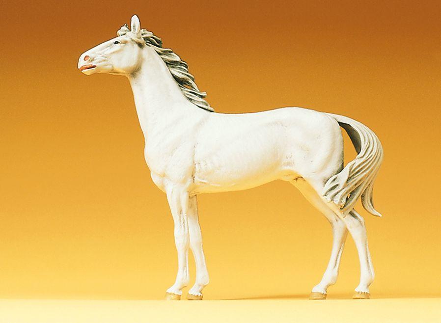 1:25 Pferd, stehend - Preiser 47021  | günstig bestellen bei Modelleisenbahn Center  MCS Vertriebs GmbH