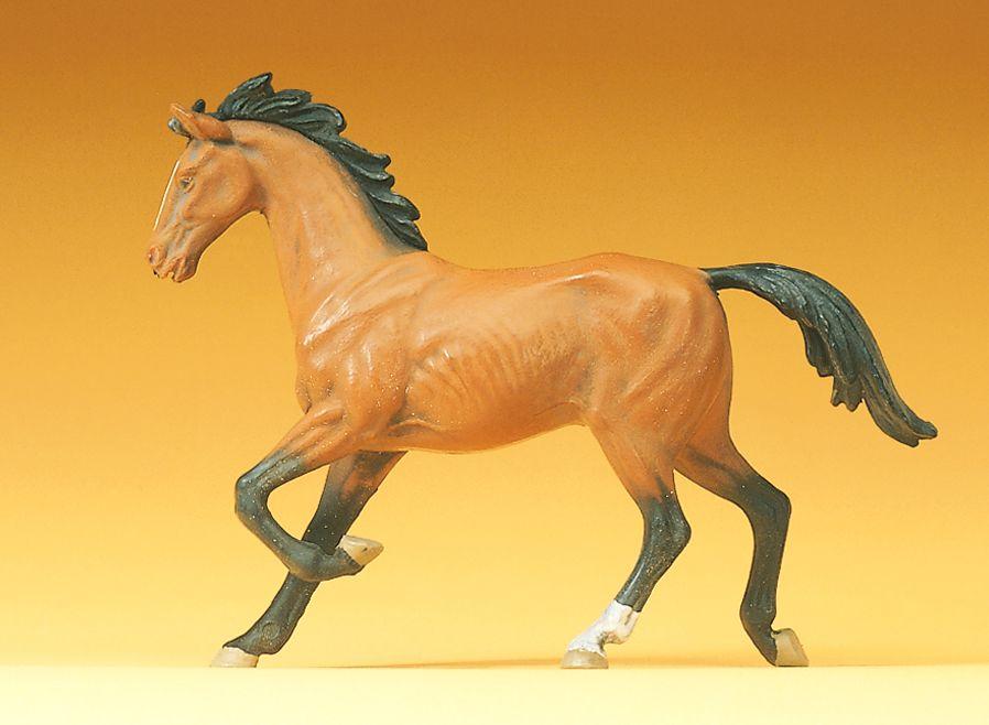1:25 Pferd, trabend - Preiser 47022  | günstig bestellen bei Modelleisenbahn Center  MCS Vertriebs GmbH