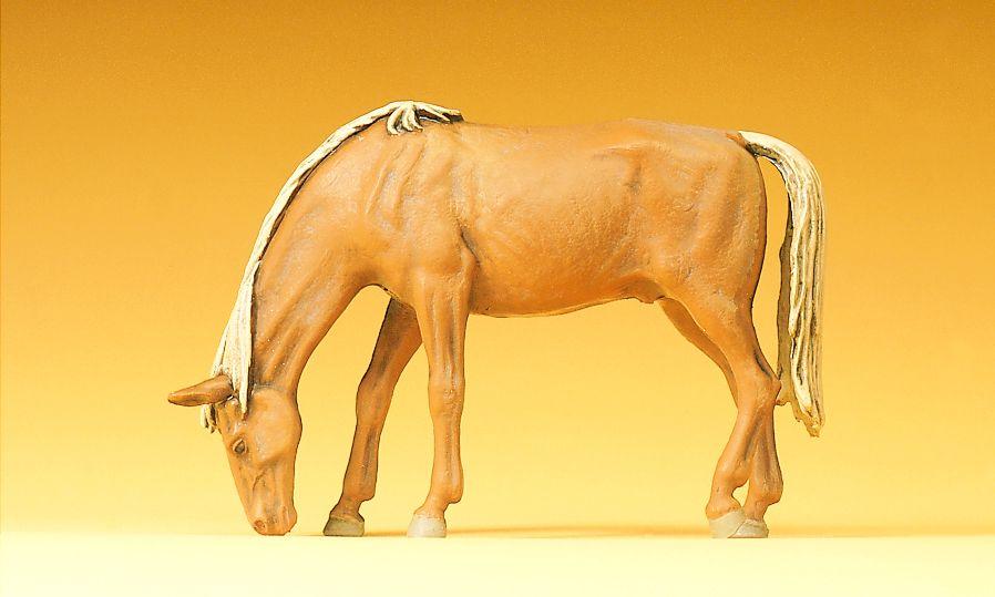 1:25 Pferd, weidend - Preiser 47023  | günstig bestellen bei Modelleisenbahn Center  MCS Vertriebs GmbH