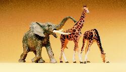 1:25 afrikanischer Elefant - Preiser 47500  | günstig bestellen bei Modelleisenbahn Center  MCS Vertriebs GmbH