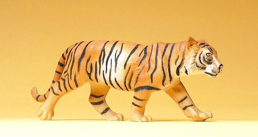 1:25 Tiger, gehend - Preiser 47511    günstig bestellen bei Modelleisenbahn Center  MCS Vertriebs GmbH