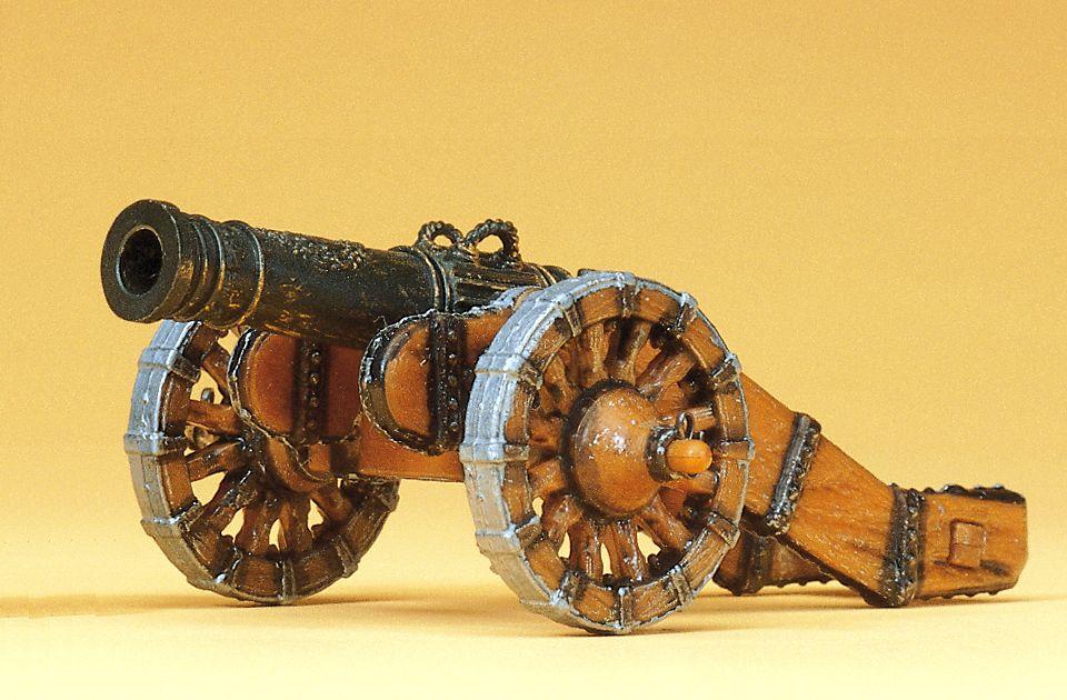1:25 Kanone Feldschlange - Preiser 52323  | günstig bestellen bei Modelleisenbahn Center  MCS Vertriebs GmbH