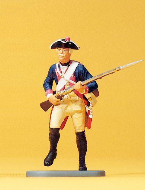1:24 Preuß. Musketier,stürmend 7.Infantrie-Regiment- Preiser 54137  | günstig bestellen bei Modelleisenbahn Center  MCS Vertriebs GmbH