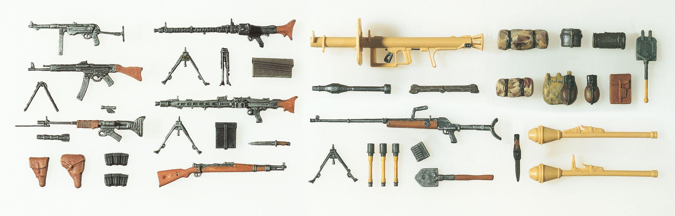 1:24 Waffen 1935-1945 - Preiser 56290  | günstig bestellen bei Modelleisenbahn Center  MCS Vertriebs GmbH
