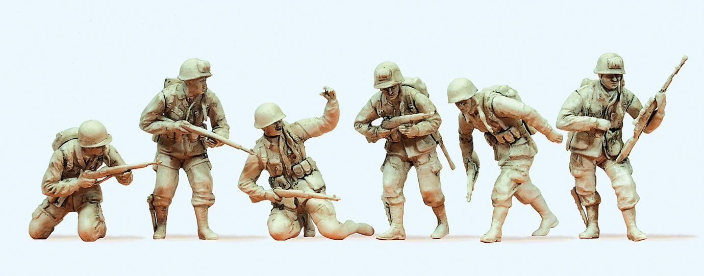 1:35 US Luftlandetruppen, D-Day 1944 - Preiser 64018  | günstig bestellen bei Modelleisenbahn Center  MCS Vertriebs GmbH