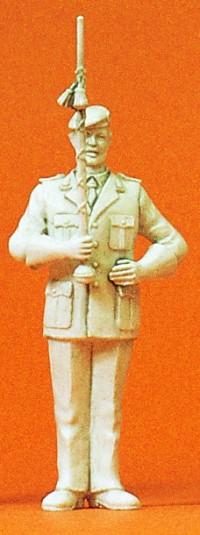 1:35 BW Heeresmusikkorps Tamburmajor, unbemalt- Preiser 64353  | günstig bestellen bei Modelleisenbahn Center  MCS Vertriebs GmbH