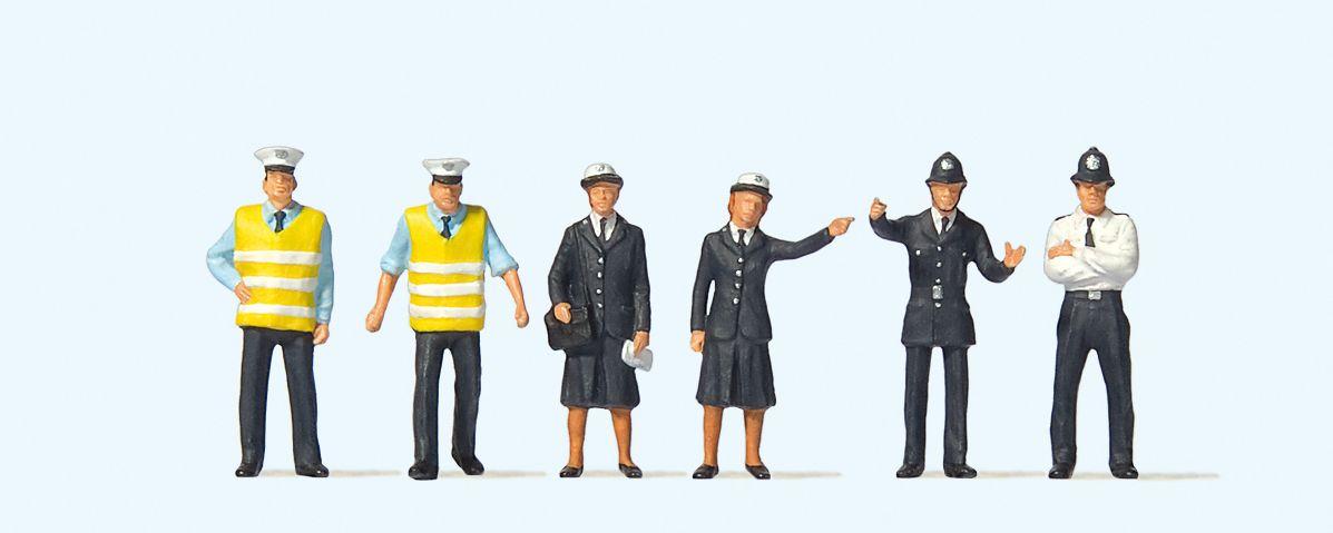 1:76 Polizei Großbritannien – Preiser  | günstig bestellen bei Modelleisenbahn Center  MCS Vertriebs GmbH
