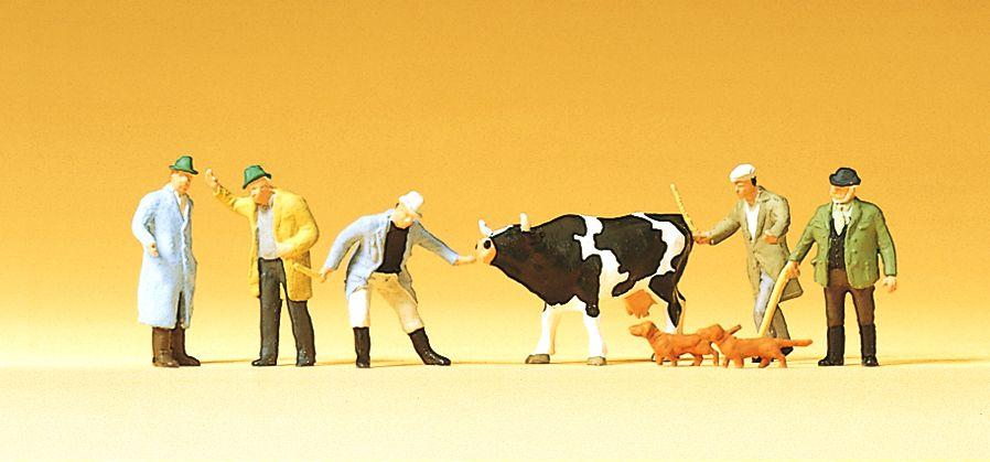 1:120 Viehhandel - Preiser 75021  | günstig bestellen bei Modelleisenbahn Center  MCS Vertriebs GmbH