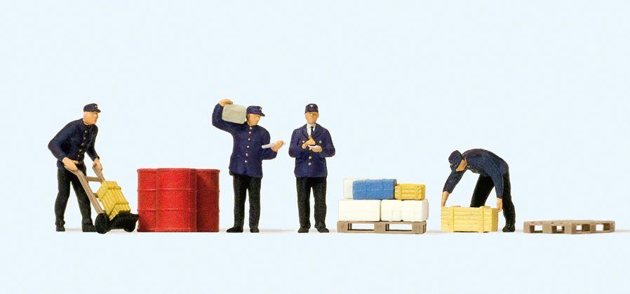 1:120 Güterbodenpersonal  | günstig bestellen bei Modelleisenbahn Center  MCS Vertriebs GmbH