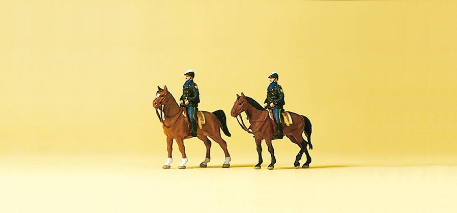 1:160 Polizei USA, Berittene - Preiser 79149  | günstig bestellen bei Modelleisenbahn Center  MCS Vertriebs GmbH