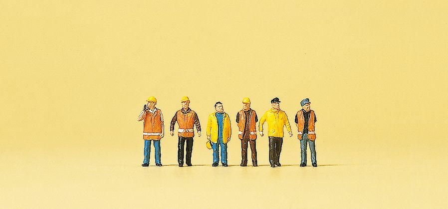 1:160 Arbeiter in Sicherheits kleidung- Preiser 79154  | günstig bestellen bei Modelleisenbahn Center  MCS Vertriebs GmbH