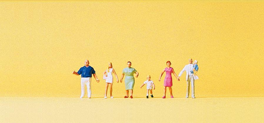 1:160 Familie Krause beim Spaziergang- Preiser 79182  | günstig bestellen bei Modelleisenbahn Center  MCS Vertriebs GmbH