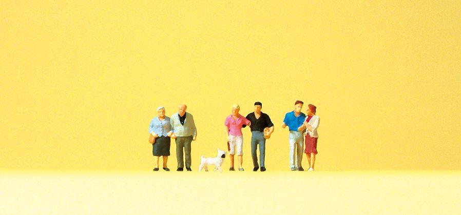 1:160 Paare mit Hund - Preiser 79209  | günstig bestellen bei Modelleisenbahn Center  MCS Vertriebs GmbH