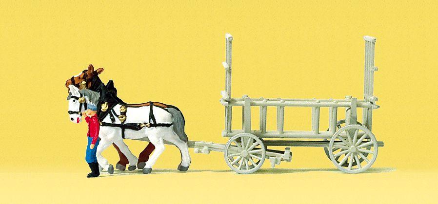 1:160 Leiterwagen, Fertigmodell- Preiser 79476  | günstig bestellen bei Modelleisenbahn Center  MCS Vertriebs GmbH