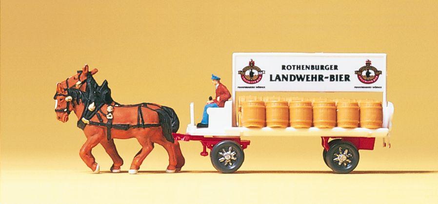 1:160 Brauereiwagen, Fertigmodell- Preiser 79478  | günstig bestellen bei Modelleisenbahn Center  MCS Vertriebs GmbH