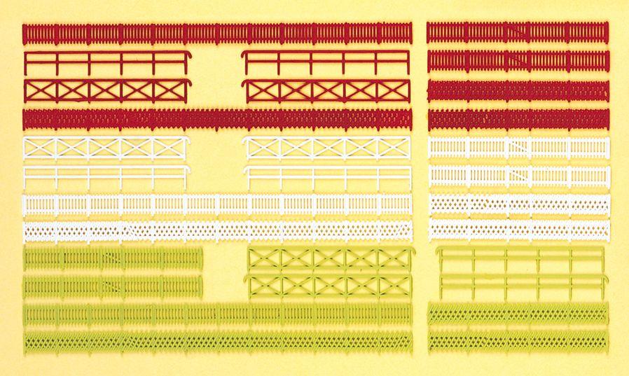 1:160 Zäune, 30 Stück, Bausatz - Preiser 79551  | günstig bestellen bei Modelleisenbahn Center  MCS Vertriebs GmbH