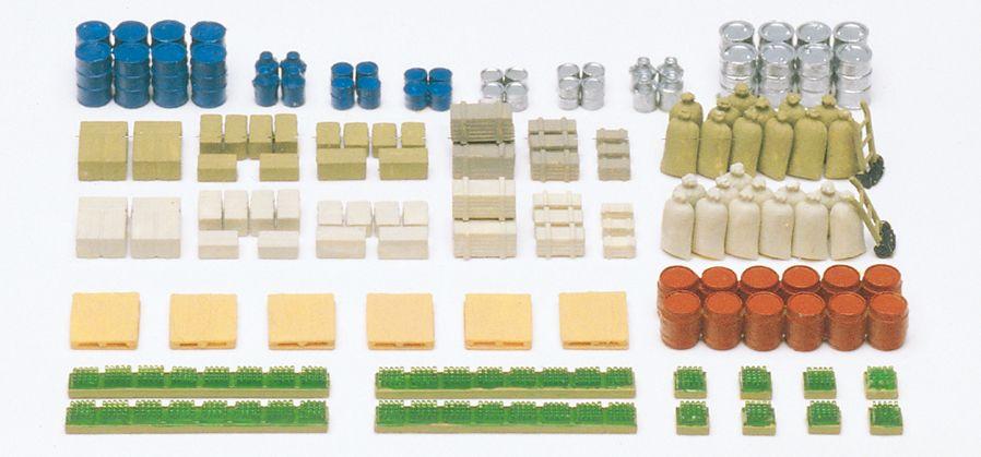 1:160 Ladegut, Bausatz - Preiser 79566  | günstig bestellen bei Modelleisenbahn Center  MCS Vertriebs GmbH