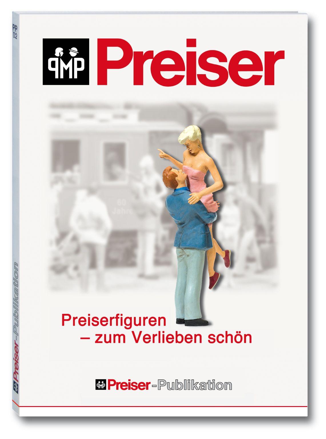 Buch: Preiserfiguren - zum Verlieben schön - Preiser 96001  | günstig bestellen bei Modelleisenbahn Center  MCS Vertriebs GmbH