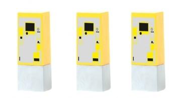 1:87 Parkscheinautomaten, 3 Stück - Rietze  | günstig bestellen bei Modelleisenbahn Center  MCS Vertriebs GmbH
