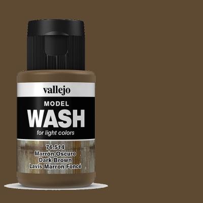 Alterungsfarbe dunkles braun- Vallejo Washes  | günstig bestellen bei Modelleisenbahn Center  MCS Vertriebs GmbH