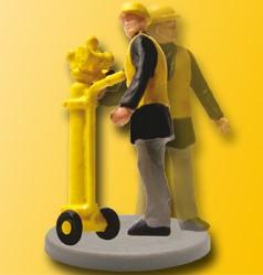 1:87 Gleisbau Sicherheitsbeauftrager mit pneumatischem Horn Art.Nr.920-5111