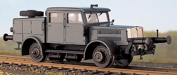 Faun ZRS Schienen-LKW - Weinert 100096  - mit RP-25 Radsätzen und Mabuchi-Motor | günstig bestellen bei Modelleisenbahn Center  MCS Vertriebs GmbH