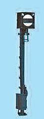 1:87 DB + DRG Wartezeichen mit beleuchteter Anstrahlleuchte  - Weinert 1802   - 1 Stück im Bausatz | günstig bestellen bei Modelleisenbahn Center  MCS Vertriebs GmbH