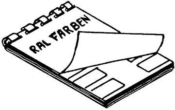 RAL-Farbkarte - Weinert 2347  | günstig bestellen bei Modelleisenbahn Center  MCS Vertriebs GmbH