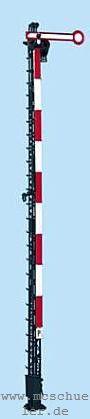 Spur 0 Form-Hauptsignal 1-flügelig, 8m-Mast, beleuchtet, Bausatz- Weinert 2501  | günstig bestellen bei Modelleisenbahn Center  MCS Vertriebs GmbH