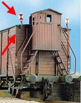 Spur 0 Zugschlußscheiben 8 x Zg.3, 2 x Zg.4, Bausatz- Weinert 2520  | günstig bestellen bei Modelleisenbahn Center  MCS Vertriebs GmbH