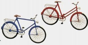 Spur 0 Fahrrad, je 1 Damen- und Herrenrad - Weinert 25661 Bausatz | günstig bestellen bei Modelleisenbahn Center  MCS Vertriebs GmbH
