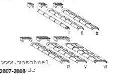 1:87 Blechkanäle + Rollenkästen Gr.I-VI- Weinert 7207  | günstig bestellen bei Modelleisenbahn Center  MCS Vertriebs GmbH