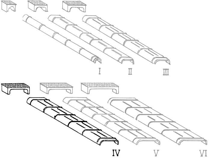 Spur 0 Blechkanäle und Rollenkästen für Seilzugleitungen in Größe IV - Weinert 28074    günstig bestellen bei Modelleisenbahn Center  MCS Vertriebs GmbH