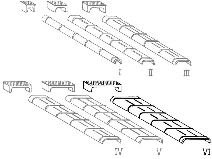 Spur 0 Blechkanäle und Rollenkästen für Seilzugleitungen in Größe VI - Weinert 28076    günstig bestellen bei Modelleisenbahn Center  MCS Vertriebs GmbH