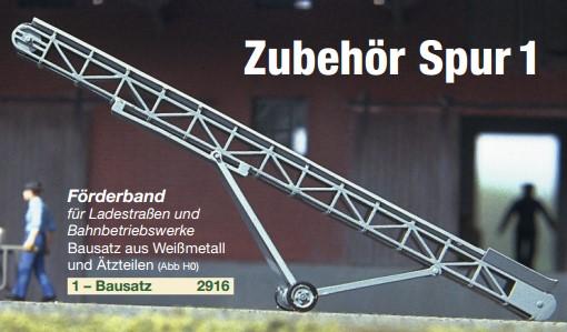 Spur 1 Förderband - Weinert 2916  | günstig bestellen bei Modelleisenbahn Center  MCS Vertriebs GmbH