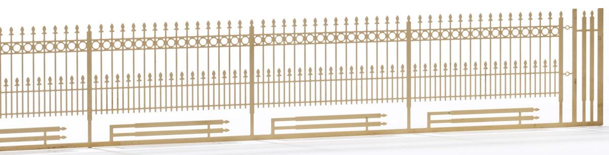1:220 Schmiedeeisener Zaun, L=27cm - Weinert 6875  | günstig bestellen bei Modelleisenbahn Center  MCS Vertriebs GmbH