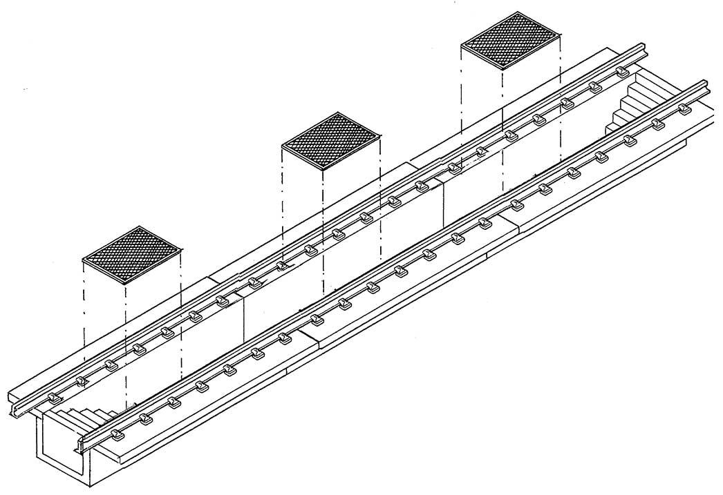 1:87 Riffelblech für Untersuchungs- bzw. Schlackengruben, 6 Stück, angeätzt - Weinert 3225  | günstig bestellen bei Modelleisenbahn Center  MCS Vertriebs GmbH