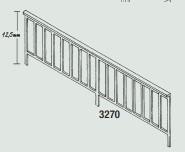 1:87 Geländer für Brücken, 2 Stück-Weinert 3270  | günstig bestellen bei Modelleisenbahn Center  MCS Vertriebs GmbH