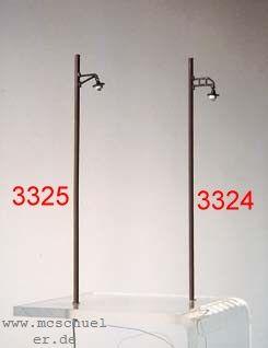 h0 lampen am holzmast gerade messing gussteil mit mast. Black Bedroom Furniture Sets. Home Design Ideas