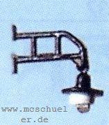 H0 Straßenlatern mit geradem Ausleger, für Gebäude und Telegrafenmasten - Weinert 33801  | günstig bestellen bei Modelleisenbahn Center  MCS Vertriebs GmbH