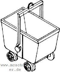 H0 Kohlenhunt, Messingguss - Weinert 3445  | günstig bestellen bei Modelleisenbahn Center  MCS Vertriebs GmbH