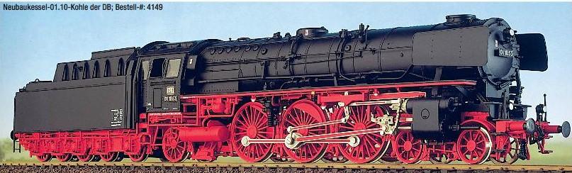 DB BR 01.10 Neubaukessel, Kohletender, ab 1962 – Weinert  - mit RP25-Radsätzen | günstig bestellen bei Modelleisenbahn Center  MCS Vertriebs GmbH