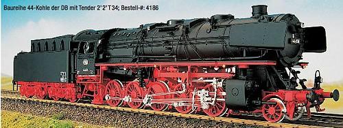 DB Ep.3a BR 44 DB mit Witte-Windleitblechen, Kohleversion - Weinert - Ausführung mit RP25-Radsätzen | günstig bestellen bei Modelleisenbahn Center  MCS Vertriebs GmbH