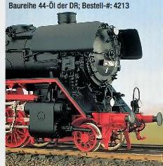 DR Ep.3b + Ep.4 BR 44 mit Witte-Windleitblechen und Öltender - Weinert - Ausführung mit NEM-Radsätzen | günstig bestellen bei Modelleisenbahn Center  MCS Vertriebs GmbH