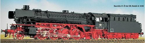 DB BR 41 mit Neubaukessel und Witte-Windleitblechen, Öltender – Weinert  - mit NEM-Radsätzen | günstig bestellen bei Modelleisenbahn Center  MCS Vertriebs GmbH
