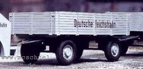 1:87 Anhänger 2-achsig für 2-a. Kaelble Zugmaschinen- Weinert 4331  | günstig bestellen bei Modelleisenbahn Center  MCS Vertriebs GmbH