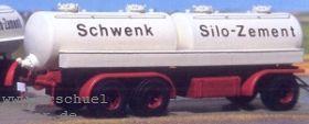 1:87 Anhänger 3-achsig mit Zementsiloaufbau - Weinert 4340  | günstig bestellen bei Modelleisenbahn Center  MCS Vertriebs GmbH