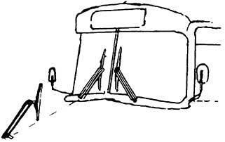 1:87 Doppelarmscheibenwischer und Spiegel für Busse, 6 Stück - Weinert 4364  | günstig bestellen bei Modelleisenbahn Center  MCS Vertriebs GmbH