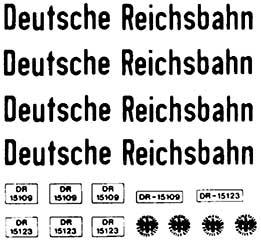 1:87 Beschriftung für LKW Deutsche Reichsbahn - Weinert 4372  | günstig bestellen bei Modelleisenbahn Center  MCS Vertriebs GmbH