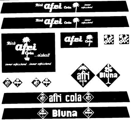 1:87 Beschriftung Afri-Cola und Bluna - Weinert 4380  | günstig bestellen bei Modelleisenbahn Center  MCS Vertriebs GmbH